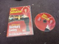 dvd Slim and Salsacise with fitness expert Rosemary Conley, burn up to 500 calories
