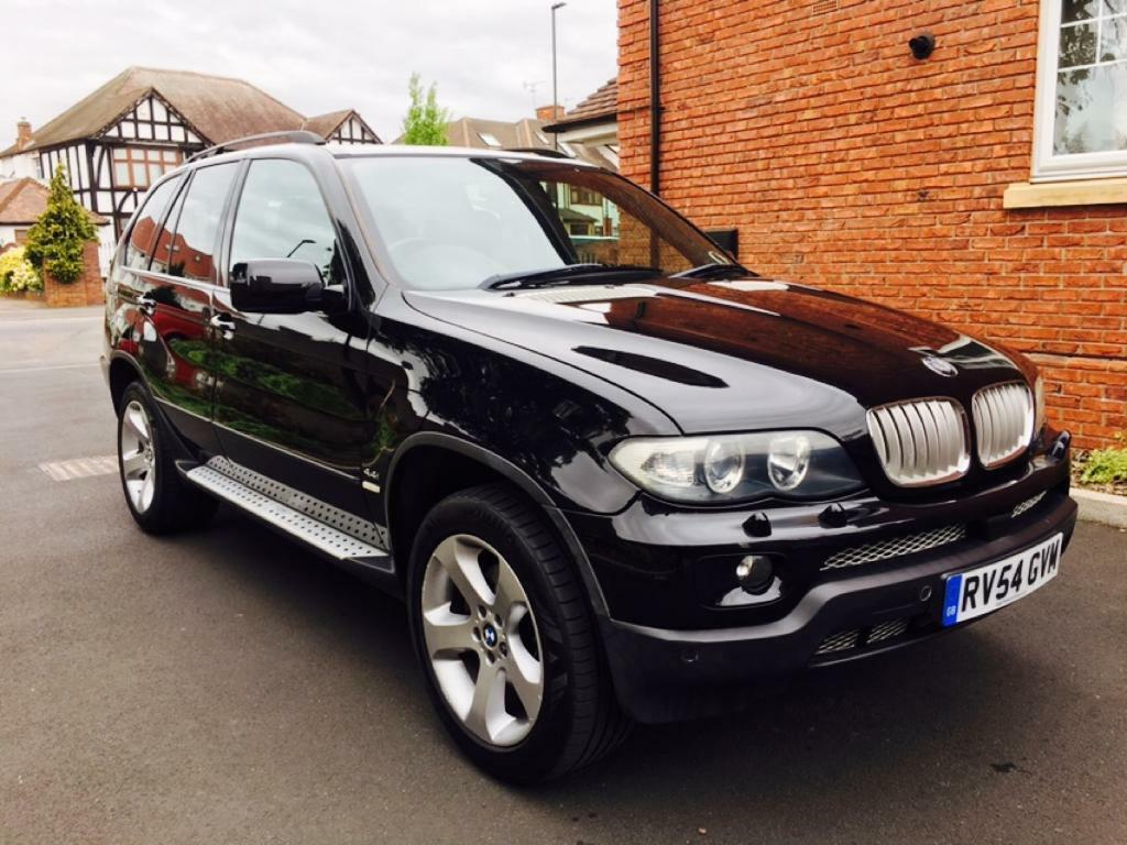 2004 54 e53 bmw x5 v8 sport 102k 2 owners 8m mot fsh black leathers 19in immaculate. Black Bedroom Furniture Sets. Home Design Ideas