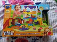 NEW Vtech toot toot discovery house