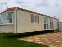 Huge Double Glazed & Heated static caravan & FREE 2018 site fee AT Seawick clacton essex suffolk