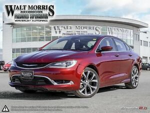 2016 CHRYSLER 200C: LOCALLY OWNED, ONE OWNER