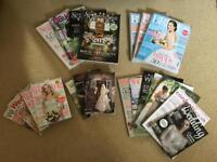 Large selection of wedding magazines worth over £50 retail