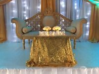 Wedding/Event Decorator - from £400 / Chair cover hire only £1.20 including sash