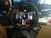 Logitech G29 PS4/PC steering wheel