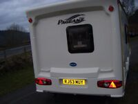 Spacious Bailey Pageant 4 Berth Caravan and Awning