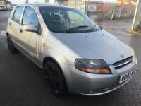 Daewoo Kalos 1.4 16v SX 5dr low mileage,NEW MOT
