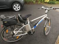 Proteam electric cycle with carrier and all accessories
