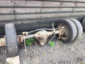 Ford transit mk6 t350 rear axel with diff ect