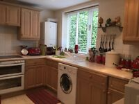 `USED LIMED-OAK KITCHEN DOORS & DRAWERS.