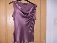 Principles ladies silk top size 10 worn once.