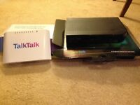 Talk talk router and Youview box