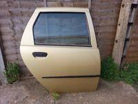 Fiat Punto 2000 O/S Complete Rear Door