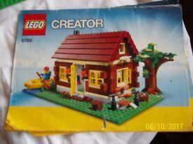 Lego creator cabin 3 in 1