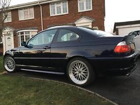 BMW 330ci coupe m sport fsh manual 6 speed