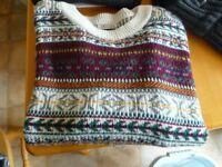 Mens Good Quality Cardigans , Size Medium, Some Hardly Worn, Various Colors