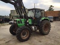 Deutz Fahr DX4.51 4x4 Loader Tractor with Forks