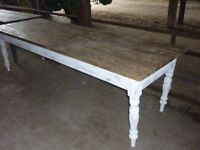 Vintage/rustic dining/Farmhouse/kitchen table 2700 x 900