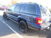 jeep grand cherokee 4.0 petrol/lpg gas