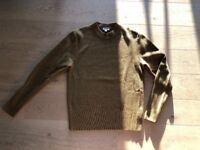 COS Mens Sweater Green L (between M and L)