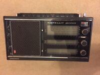 Grundig Satellit 2000 collectors radio from 1976