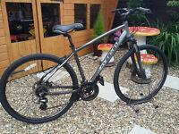 mens carrera crossfire 2 hybrid bike