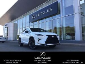 2016 Lexus RX 350 F-Sport Series 3 with Red Leather