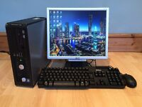 Dell Optiplex 745 Full Desktop PC In Excellent Condition With Office 2010 & AVG Antivirus 2015