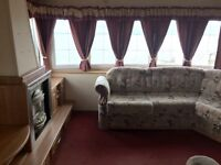 CHEAP PRE OWNED CARAVAN FOR SALE ON QUIET PARK ON NORTH EAST COASTLINE 2017 SITE FEES INCLUDED.