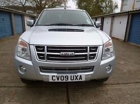 2009 ISUZU RODEO 2.5TD 4WD Denver Double Cab Manual
