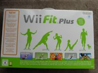 Wii console plus Nintendo Wii Fit Plus with Balance Board