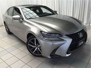 2016 Lexus GS 350 AWD F Sport: 1 Owner.