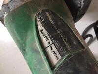 Hitachi 9 inch grinder