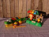 VTech dancing zoo and musical crocodile toy bundle