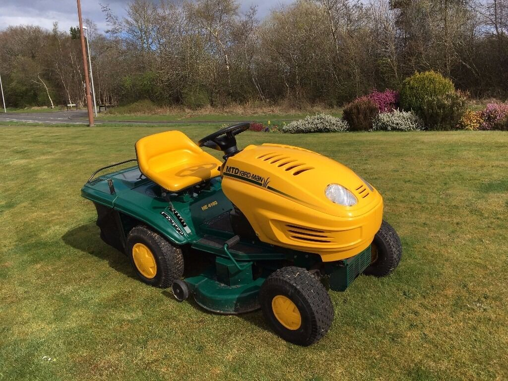 16 Mtd Tractor : Mtd yardman ride on mower hp quot cutting deck in