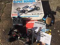 RARE KYOSHO SUPER BOMBER R/C CAR for sale  West Midlands