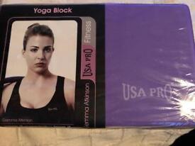 Yoga Block. New