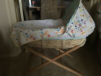 Moses Basket by Mothercare
