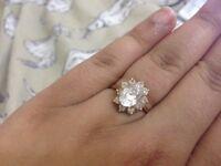 gold ring 18 carat