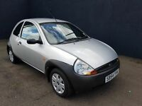 NOVEMBER 2004 FORD KA 1299CC PETROL MOONDUST SILVER EXCELLENT CONDITION LOW INSURANCE MOT OCTOBER 17