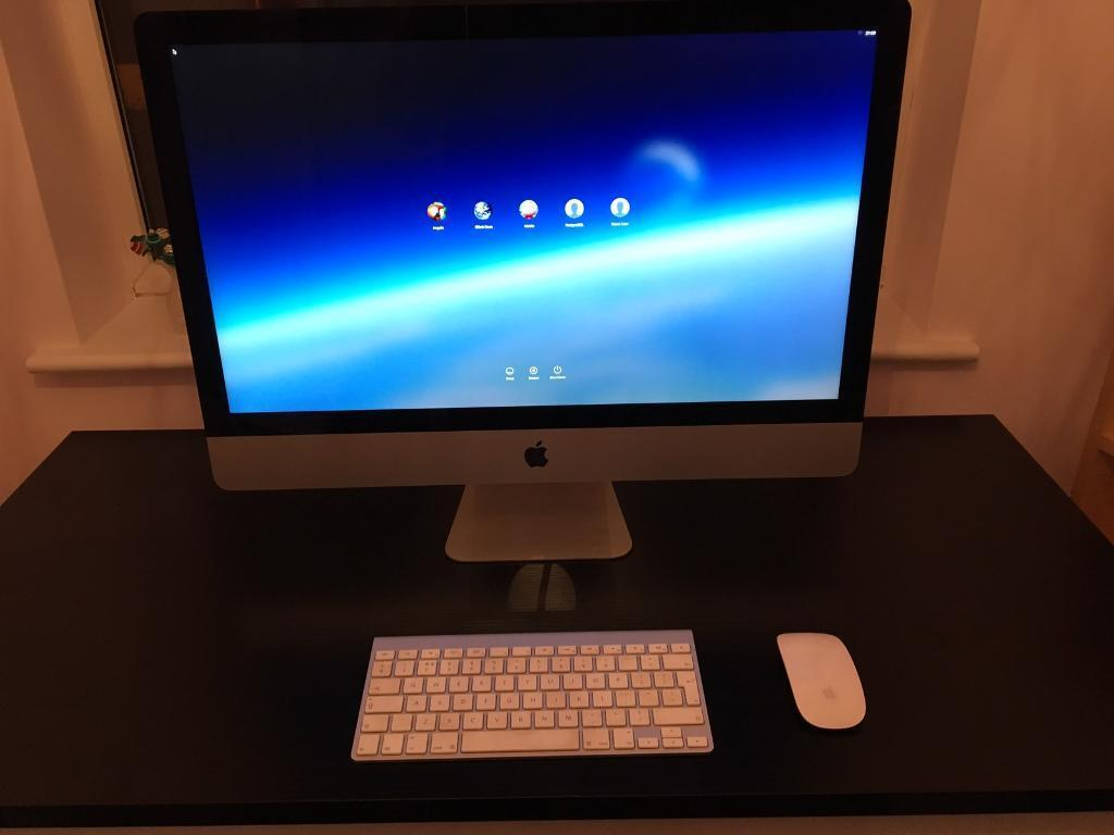 iMac core i5 3.4Ghz 27-inch (Late 2013) 8gb RAM 1TB HDD. GTX 775 2GB - immaculate condition