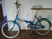 RALEIGH TWENTY SHOPPER BICYCLE
