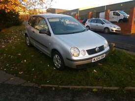 Polo 1.2 2004 petrol 12 months clean mot and freshly serviced