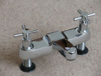 Mixer taps for bathroom.