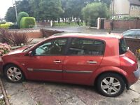 Renault megane spare or repairs no offers