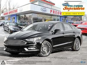 2017 Ford Fusion >>>TITANIUM AWD NAV LEATHER<<<