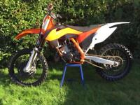 Ktm sx 125 2015 with v5 and spares