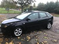 Ford Focus 1.8 TDCi Black 2007 with 12 MONTHS MOT £1600