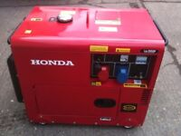 DIESEL SILENT GENERATOR 12 KVA SINGLE AND THREE PHASE