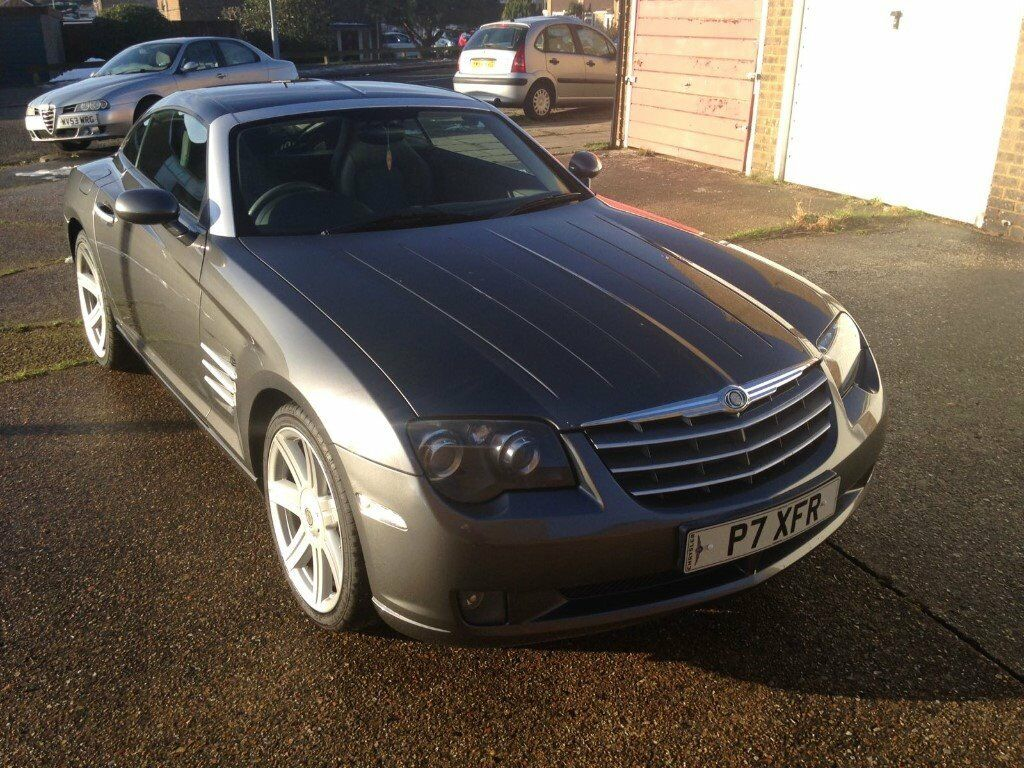 Beautiful Chrysler Crossfire 2004 Model, private plates, 94,000