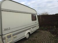 FOR SALE - Compass Image 360/2 Birth Towing 1994 CARAVAN Good Condition Need Gone Open To Offers